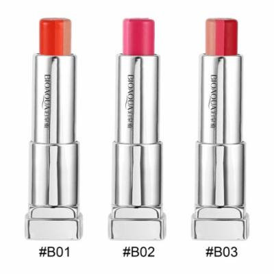 Tricolor Moisturizer Lip Balm Color Changing Waterproof Women Bite Lipstick Discolored Long-lasting Lip Care Beauty Makeup