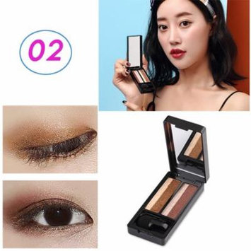 UBUB New Double Color Makeup Eyeshadow Shiny Brights High Pigments Waterproof Shimmer Long Lasting Nude Eye Ultimate Shadow Palette