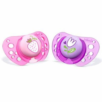 Chicco Orthodontic Flair Pacifier 12M+ Pink/Purple 2-Pack