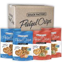 Snack Factory Pretzel Crisps, Original and Everything, 7.2 Oz, 4 Ct