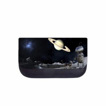 Robot and Dog in Outer Space Galaxy - 5