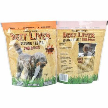 Trader Joe's Beef Liver Begging Treats for Dogs 2 oz.