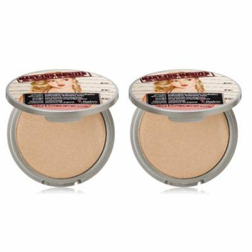 theBalm Cosmetics Mary-Lou Manizer AKA The Luminizer - Unboxed (Pack of 2)