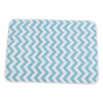 Bedding Changing Cover,Reusable Baby Cotton Urine Mat Diaper Nappy Bedding Changing Cover Pad(Green Sea)
