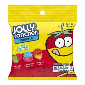 Jolly Rancher Misfits, Gummies Candy, 3.15 Oz