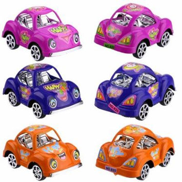 Mosunx Funny Pull back Toy Baby Cute Car Model Toy Baby Filed Gift For Kids