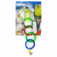 JW Insight Olympic Rings Bird Toy Olympic Rings Bird Toy - Pack of 10
