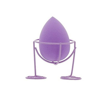 The Crème Shop - Lavender Purple - Please Hold - Classic Teardrop Blending Sponge & Holder