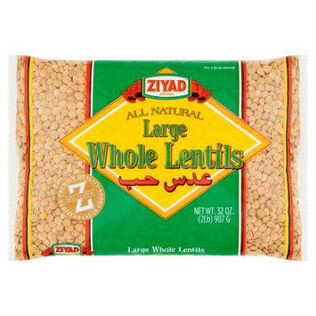 Ziyad Brothers Importing Ziyad, Lentils Green Whole Lrg, 32 Oz (Pack Of 12)