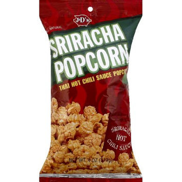 J & D's Sriracha Popcorn, 4 oz