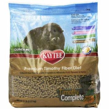 Kaytee Timothy Complete Guinea Pig Food Plus Flowers & Herbs 5 lbs - Pack of 2
