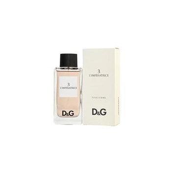 D & G 3 L'IMPERATRICE by Dolce & Gabbana - EDT SPRAY 3.3 OZ - WOMEN