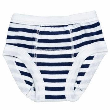 Organic Training Pants - 2-4 Years - Navy Stripe