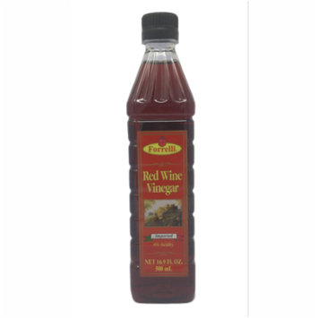 Forrelli Red Wine Vinegar, 16.9 fl. oz., Plastic Bottle (12 Pack)