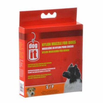Dog It Nylon Muzzle for Dogs Small - (4.7