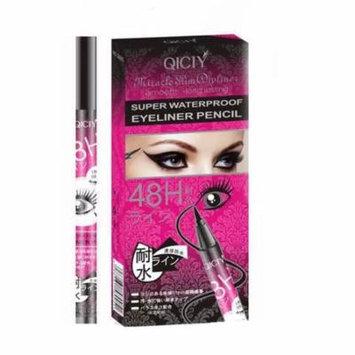 Premium New Women's 2in1 24 Hour Water resistance Eyeliner Mascara Cosmetic Kit - Black Shade