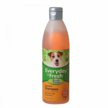 Fresh 'n Clean Everyday Fresh Scented Dog Shampoo - Clean Scent 16 oz - Pack of 10