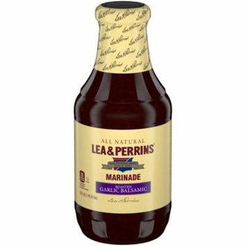 LEA & PERRINS Roasted Garlic Balsamic Marinade Bottle, 16 oz