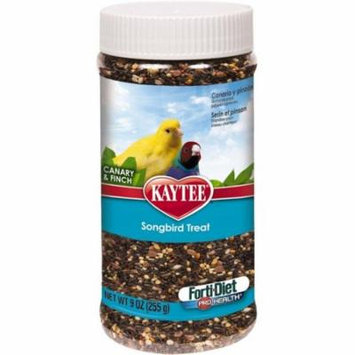 Kaytee Forti-Diet Pro Health Songbird Treat - Canaries 9 oz - Pack of 10