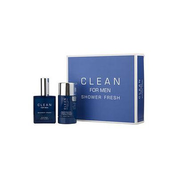 CLEAN SHOWER FRESH by Clean - EDT SPRAY 2.14 OZ & DEODORANT STICK 2.6 OZ - MEN