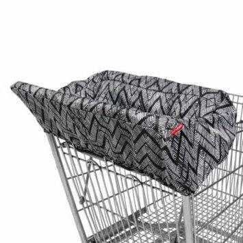 Skip Hop Take Cover Shopping Cart & High Chair Cover, Zig Zag Zebra