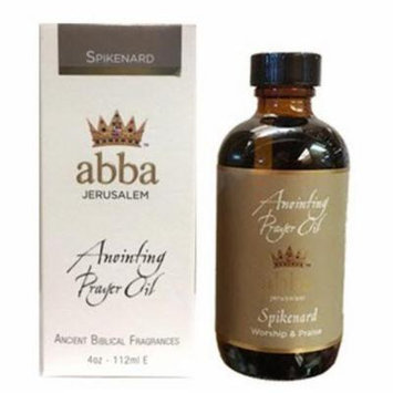 Abba Products 170837 4 oz Spikenard Anointing Oil