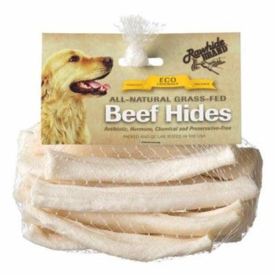 Rawhide Brand Eco Friendly Beef Hide Natural Flat Spiral Rolls 5