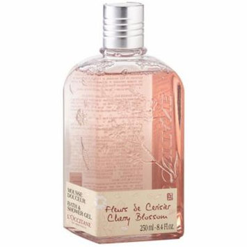 3 Pack - L'Occitane Cherry Blossom Bath & Shower Gel 8.4 oz
