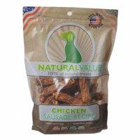 Loving Pets Natural Value Chicken Sausages 14 oz - Pack of 2