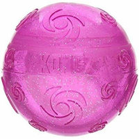 Kong Squeezz Crackle Ball Dog Toy Large Ball - Pack of 10