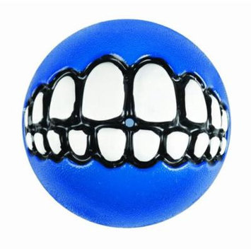 Rogz Fun Dog Treat Ball in various sizes and colors, Medium, Blue