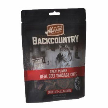 Merrick Backcountry Great Plains Real Beef Sausage Cuts 5 oz - Pack of 6