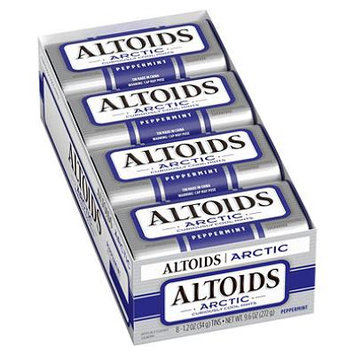 Product of Altoids Arctic Peppermint Sugar-free Mints (8 pk.) - Mints [PACK OF 2]