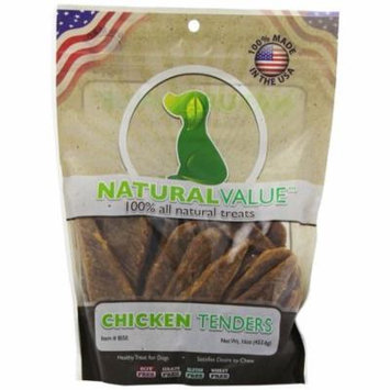 Loving Pets Natural Value Chicken Tenders 16 oz - Pack of 12