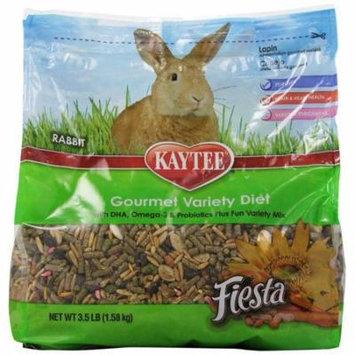 Kaytee Fiesta Max Rabbit Food 3.5 lbs - Pack of 12