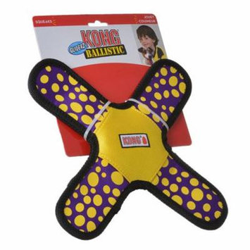 Kong Ballistic Gliderz Large - 1 Pack - (Assorted Colors) - Pack of 3