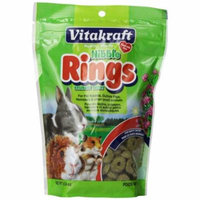 VitaKraft Nibble Rings for Small Animals 11 oz - Pack of 12