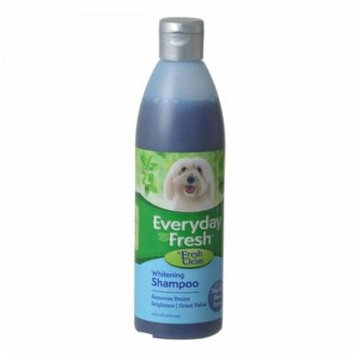 Fresh 'n Clean Everyday Fresh Whitening Dog Shampoo - Vanilla Bean Scent 16 oz - Pack of 2
