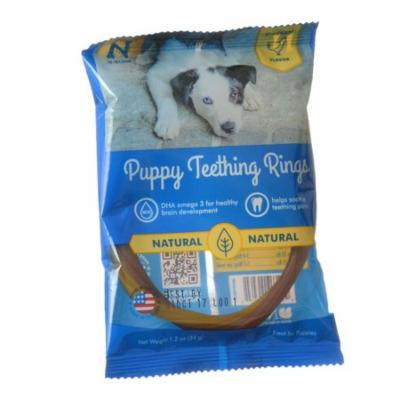 N-Bone Puppy Teething Ring - Chicken Flavor Puppy Teething Ring - 3.5