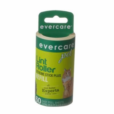 Evercare Pet Hair Adhesive Roller Refill Roll 60 Sheets - (29.8' Long x 4