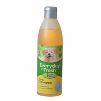 Fresh 'n Clean Everyday Fresh Puppy Shampoo - Baby Powder Scent 16 oz - Pack of 4