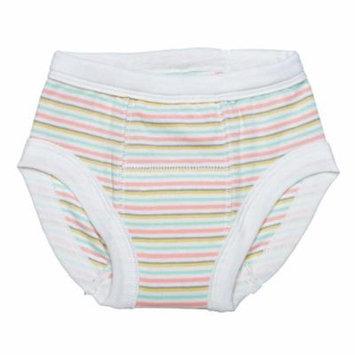 Organic Training Pants - 2-4 Years - Butterfly Stripe