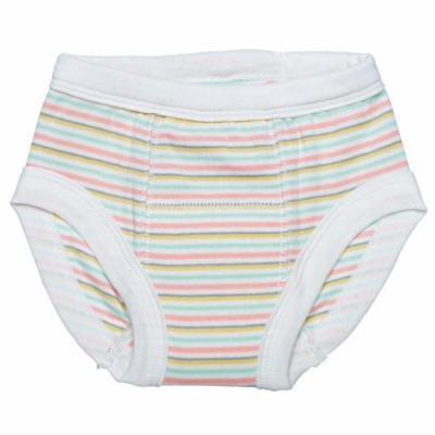 Under the Nile Organic Training Pants size 12-24m Pastel Stripe