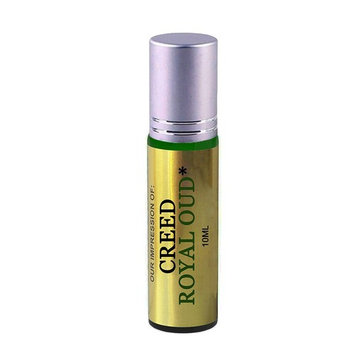 Premium Parfum Oil Blend- Similar to Creed Royal Oud Perfume*100% Pure Perfume Oil, Alcohol Free in a 10ml Green Glass Roller Bottle with Metal Ball, Silver Cap (Perfume Studio Oil Blend CF-105)