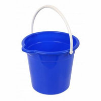 Superio Round Bucket 10 Liter (Blue)