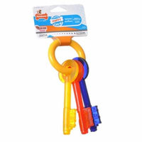 Nylabone Puppy Chew Teething Keys Chew Toy Small (For Dogs up to 25 lbs) - Pack of 12