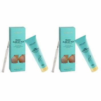 Simon & Tom Home Pedicure Kit Callus Removing Gel for Feet 100ml / 3.4 fl.oz (Pack of 2)