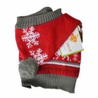 Lookin Good Holiday Dog Sweater - Red X-Small - (Fits 8-10 Neck to Tail) - Pack of 12