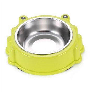 Stainless Steel Pet, Cat, Dog and Dog Bowl - Green