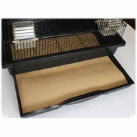 Small Cage Liners - 100 Count - 40 Pound Paper - Custom Size - Dimensions not to exceed 18 inches by 18 Inches